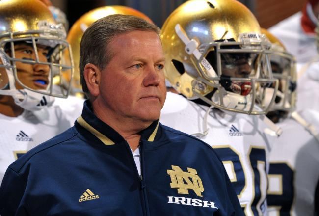 Kelly Staying At ND, Eagles Release Statement On Head Coaching Search