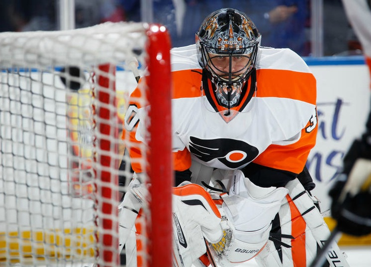 Thinking Flyers Goaltending, Two Steps Ahead