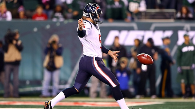 Eagles Sign Former Texans Punter, Donnie Jones