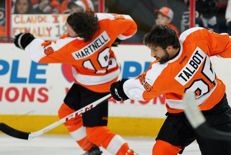 """Flyers 3-2 Win Against Sabres Caps Awful """"Statement Week"""""""