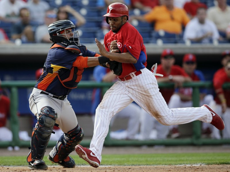 Revere Not Rollins In Leadoff Spot For Phils