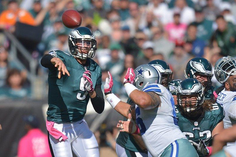 Foles Named The Starter Vs. Raiders, As Eagles Try To Win With Three Backup QB's