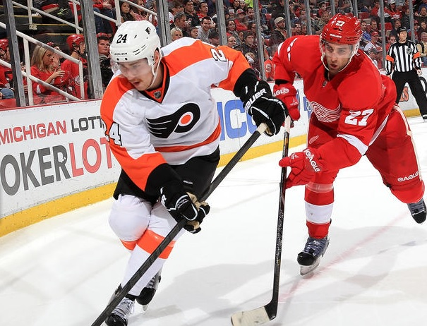Flyers Third Line Continues Dominance in 6-3 Win in Detroit