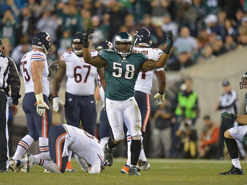 The Eagles Defensive Front Led The Way