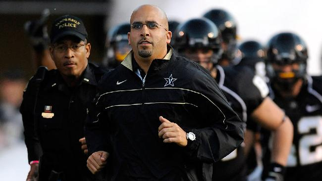 Penn State Hires Vanderbilt's James Franklin As New Head Coach