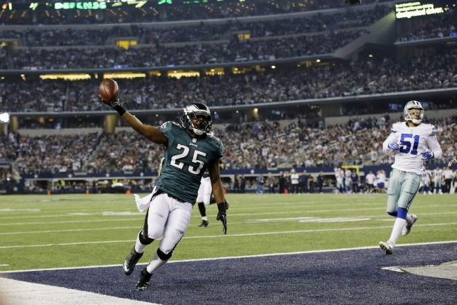 LeSean McCoy: NFC Offensive Player Of The Month