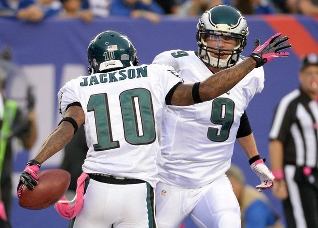 Eagles Quarterback Nick Foles Sings The Praises of DeSean Jackson