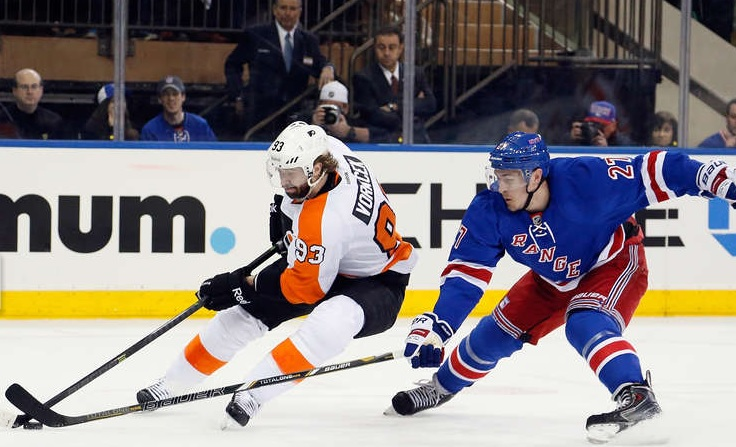 MSG Loss Streak Ends as Flyers Even Up Series