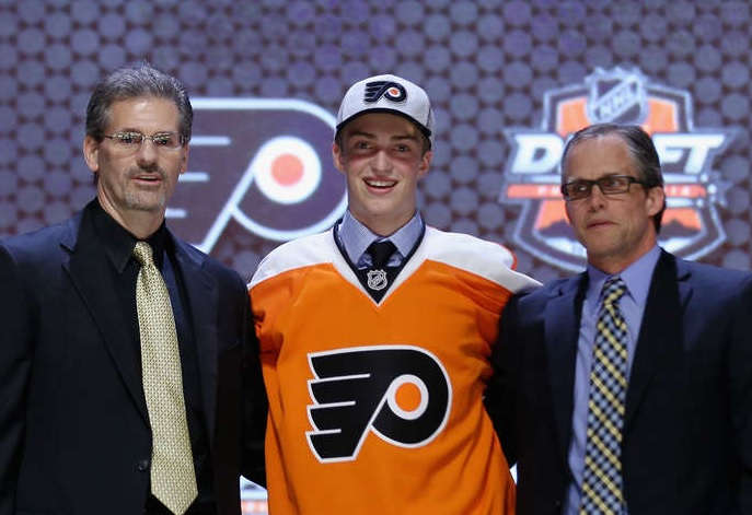 Flyers Select Defenseman Travis Sanheim with 17th Overall Pick