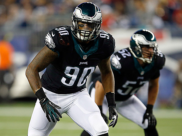 Eagles Marcus Smith Is Starting To At Least Look The Part