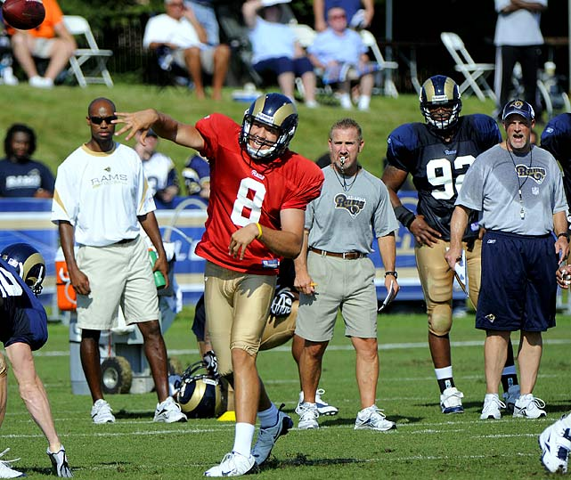 """Giants Steve Spagnuolo:  """"Sam Bradford Is A Great Competitor"""""""