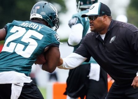 "Eagles RB Coach Duce Staley: ""Chip Is Not A Racist At All"""