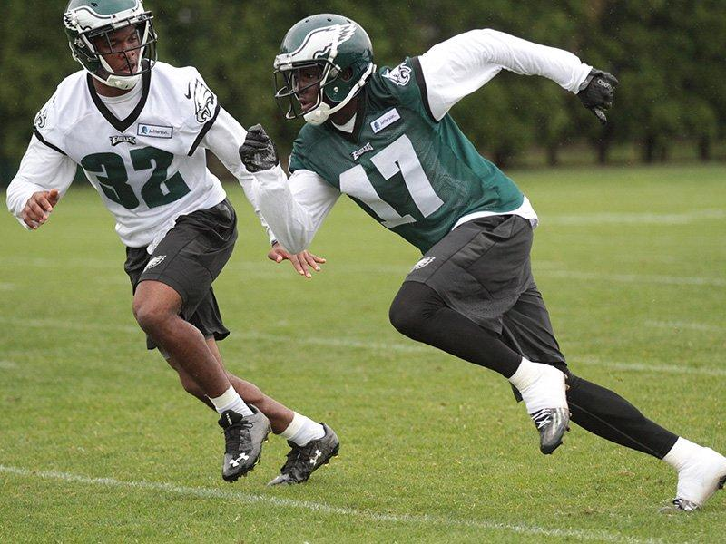 Eagles #1 Pick Nelson Agholor Shines At The Eagles OTA's