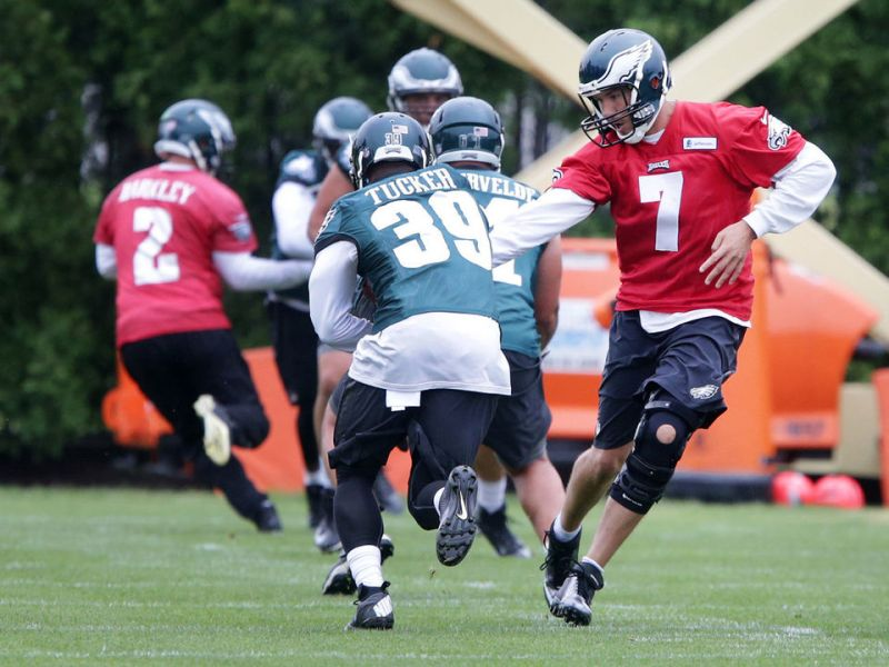 The Eagles Offense Is Taking Shape At OTA's