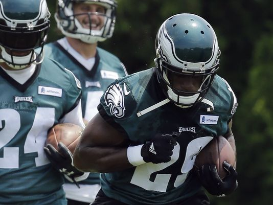 DeMarco Murray Wasn't Very Active In Training Camp Workout Yesterday