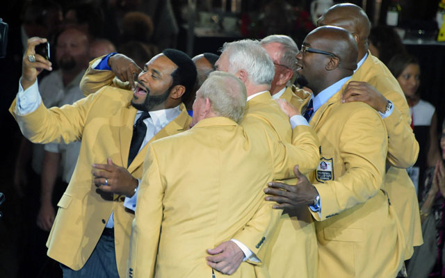 A Trip To Canton For The Hall of Fame Induction Ceremonies