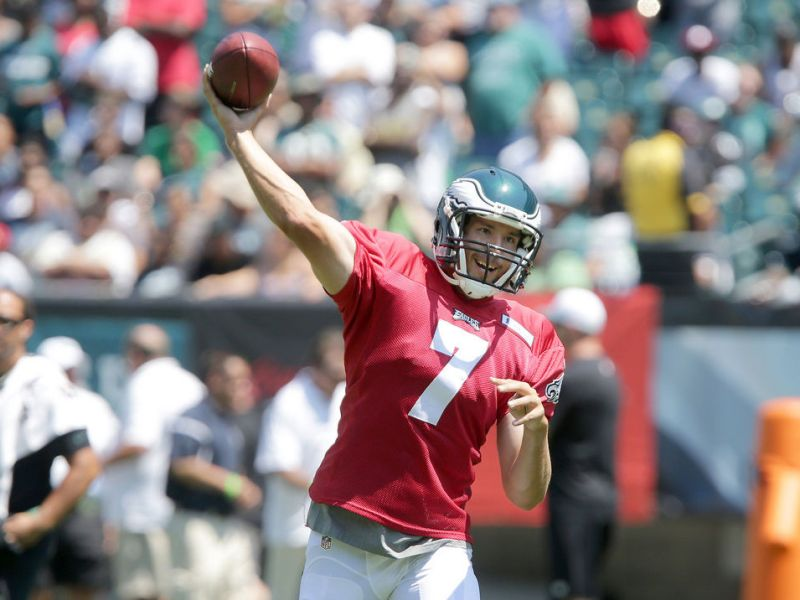 Sam Bradford Didn't Have A Stellar Day On Tuesday