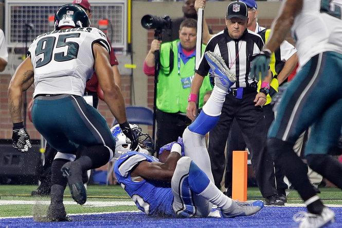 Eagles Defense Didn't Show Up Until The 2nd Half