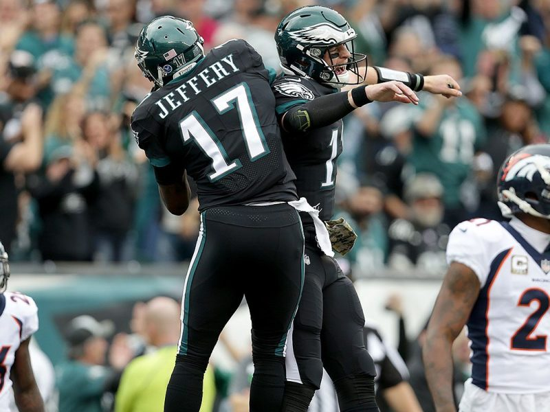 Video:  Pederson, Wentz and Jeffery Talk About First TD Pass