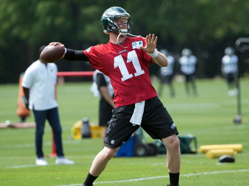 Carson Wentz Is Cleared for 11-on-11 Action