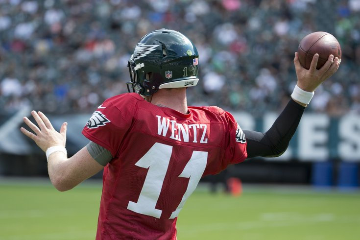 Where could Wentz land?