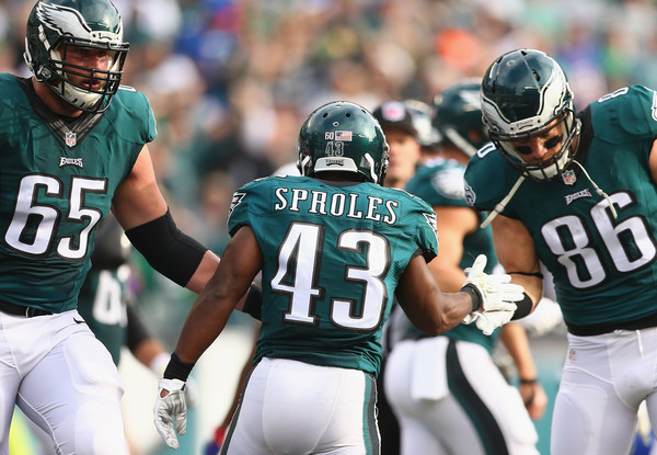 Eagles Expect  Lane Johnson and Darren Sproles To Play On Sunday