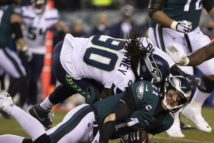 The Injury To Wentz Ended The Eagles Chances