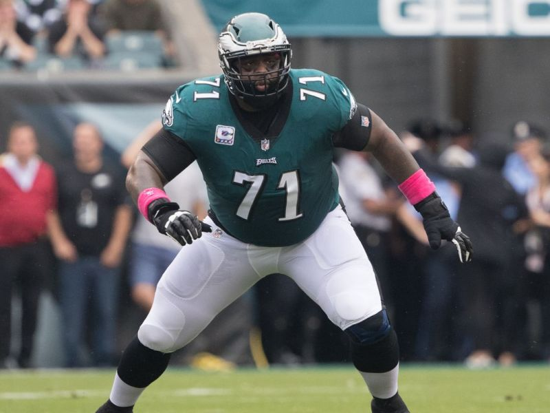 Eagles Sign Jason Peters To Play Right Guard