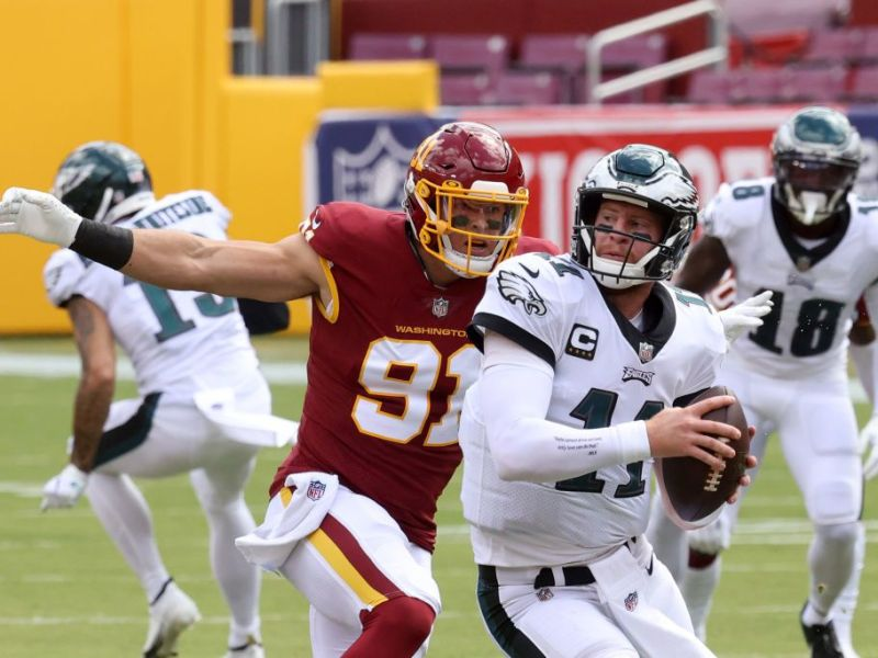 Carson Wentz Was Looking For A Big Play On Every Snap