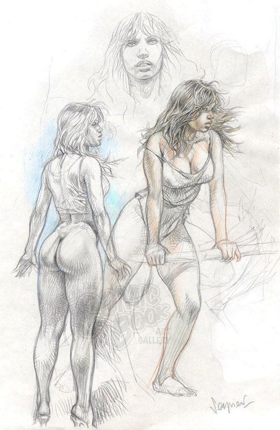 druuna-lapiz-sketch-color