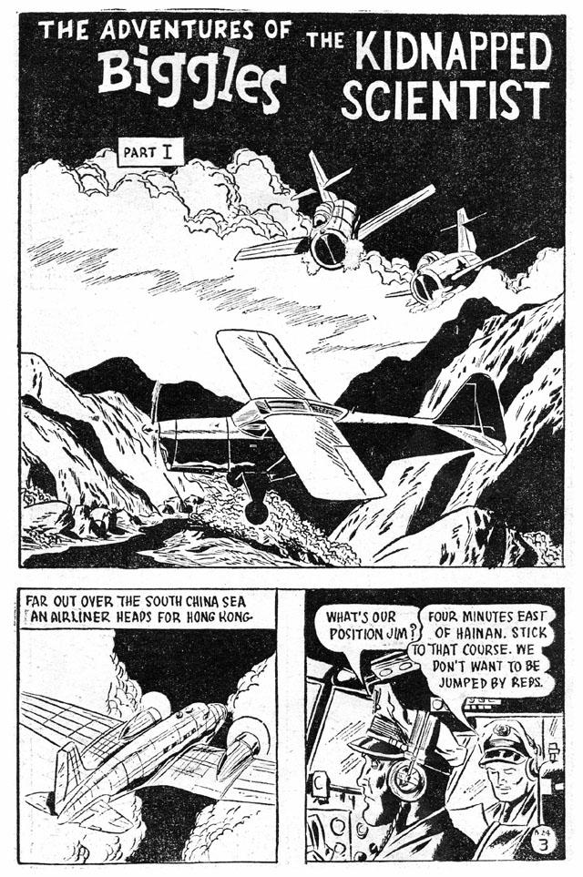 biggles-albert-de-vine-comic-page