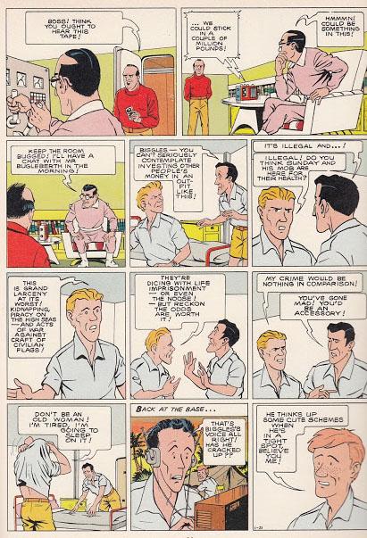 biggles-comic-page-Björn-Karlström