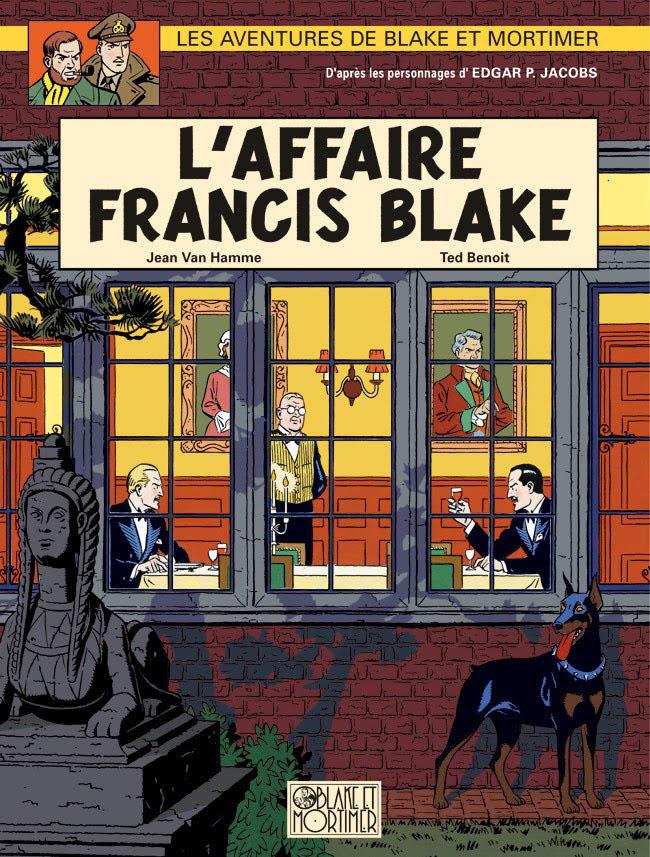 Blake et Mortimer: L'Affaire Francis Blake, por Ted Benoit