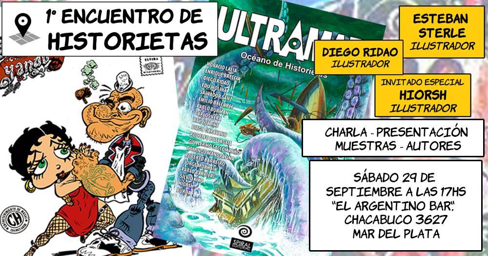primer encuentro de historietas en mar del plata 2018