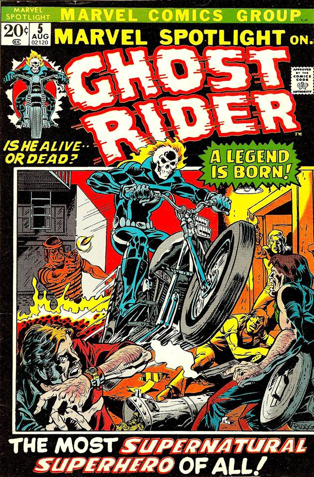 Ghost Rider, 1972, Friedrich y Ploog