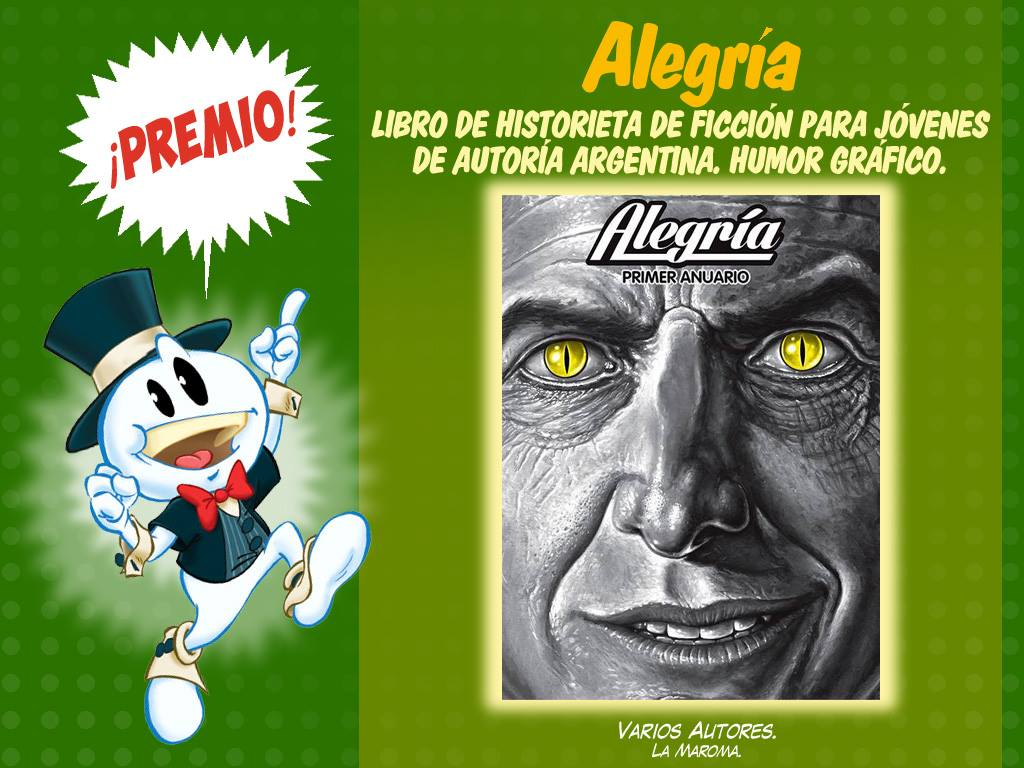 Libro de historieta de ficción para jóvenes de autoría argentina-humor grafico - alegria - la maroma