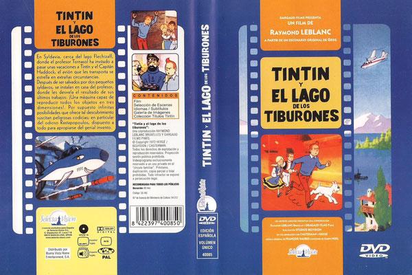 Tintín y el lago de los tiburones - 1972