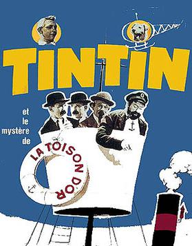 Tintín y el misterio del Toisón de Oro - 1961