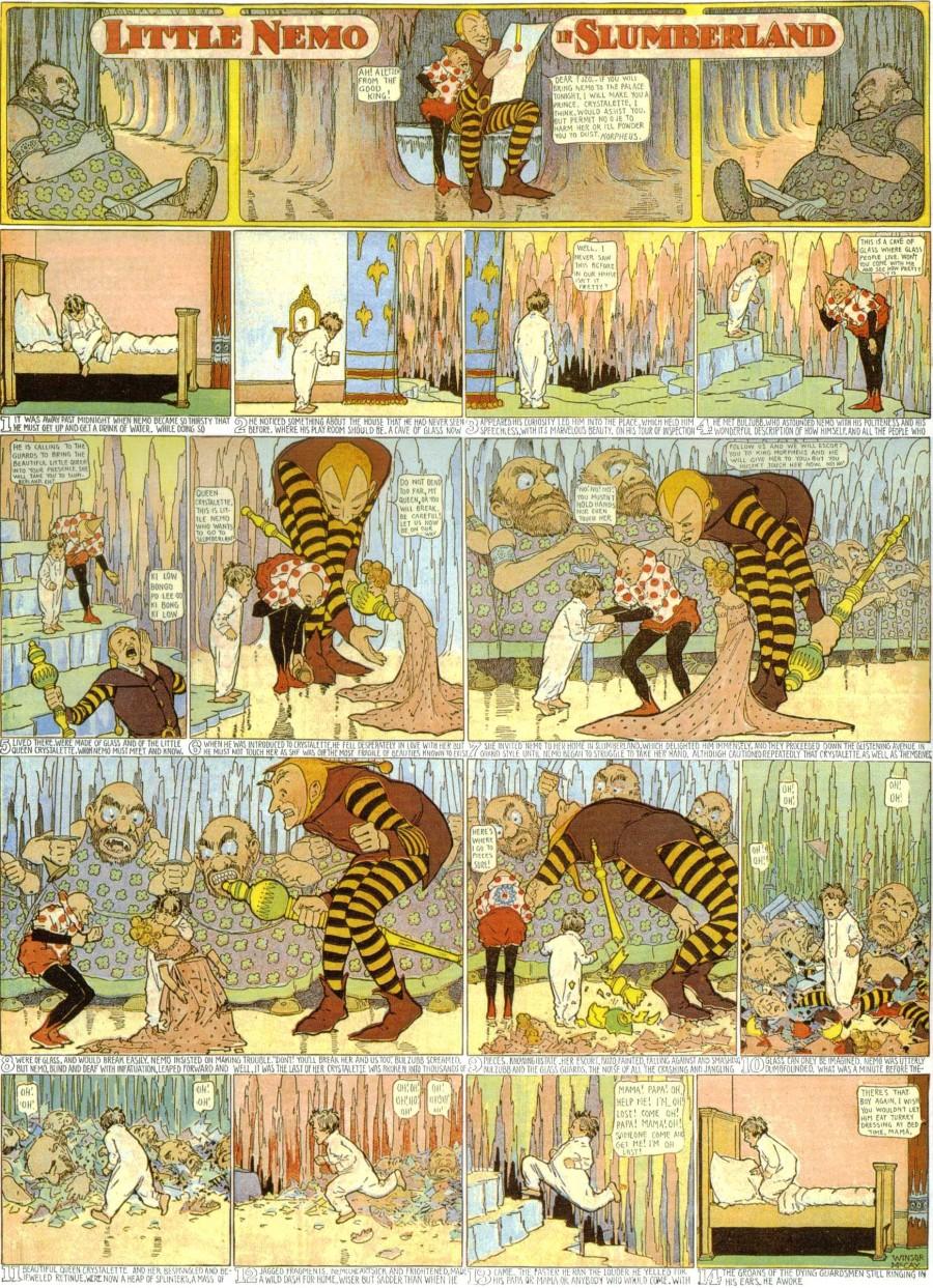 comic-en-diarios-little nemo in slumberland - Winsor Mckay