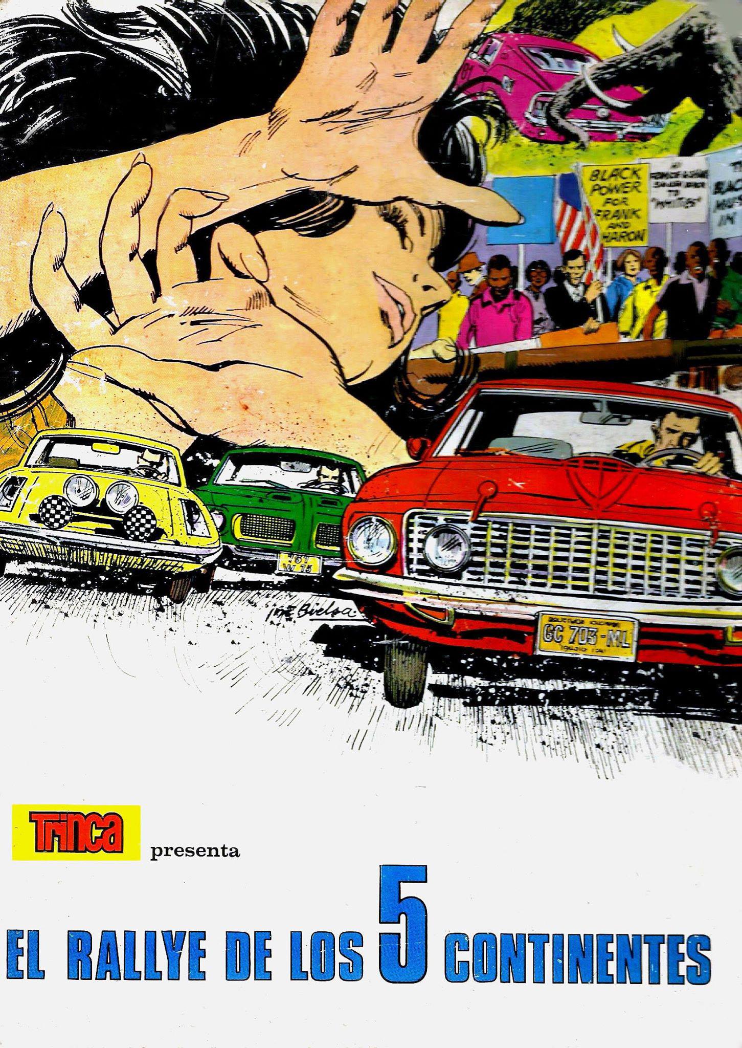 rally-de-los-5-continentes-portada-Comics de automovilismo
