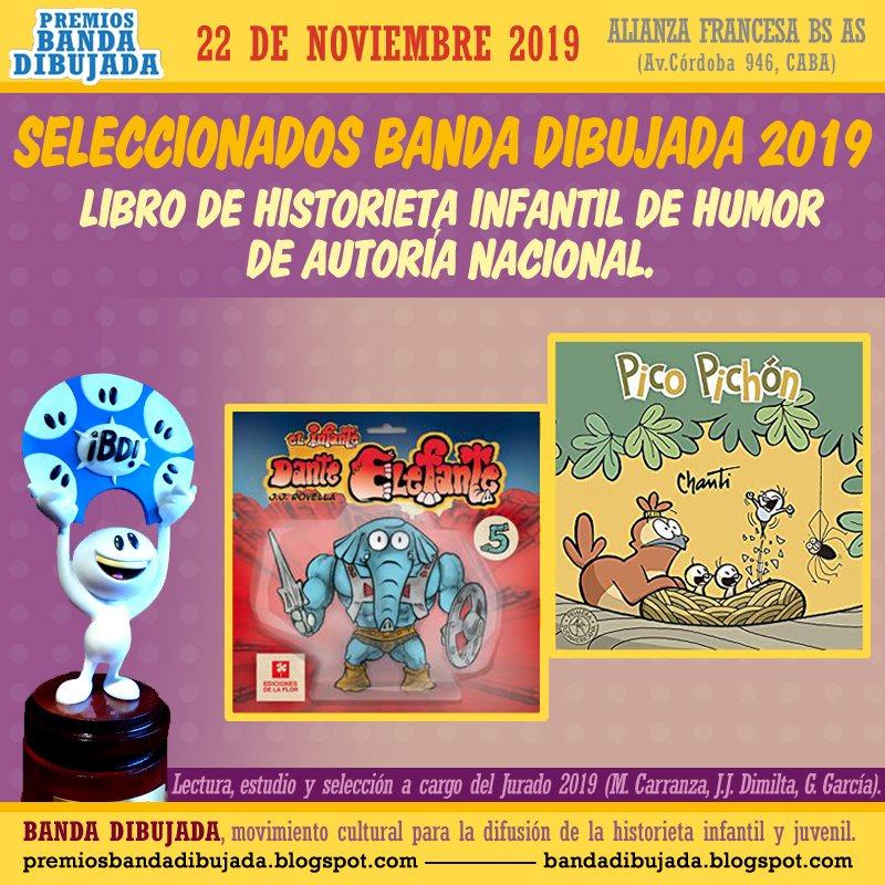 premios bd 2019 - humor nacional infantil