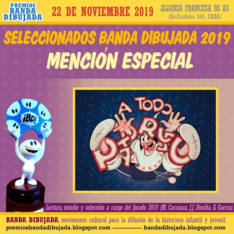 premios bd 2019 - mencion especial