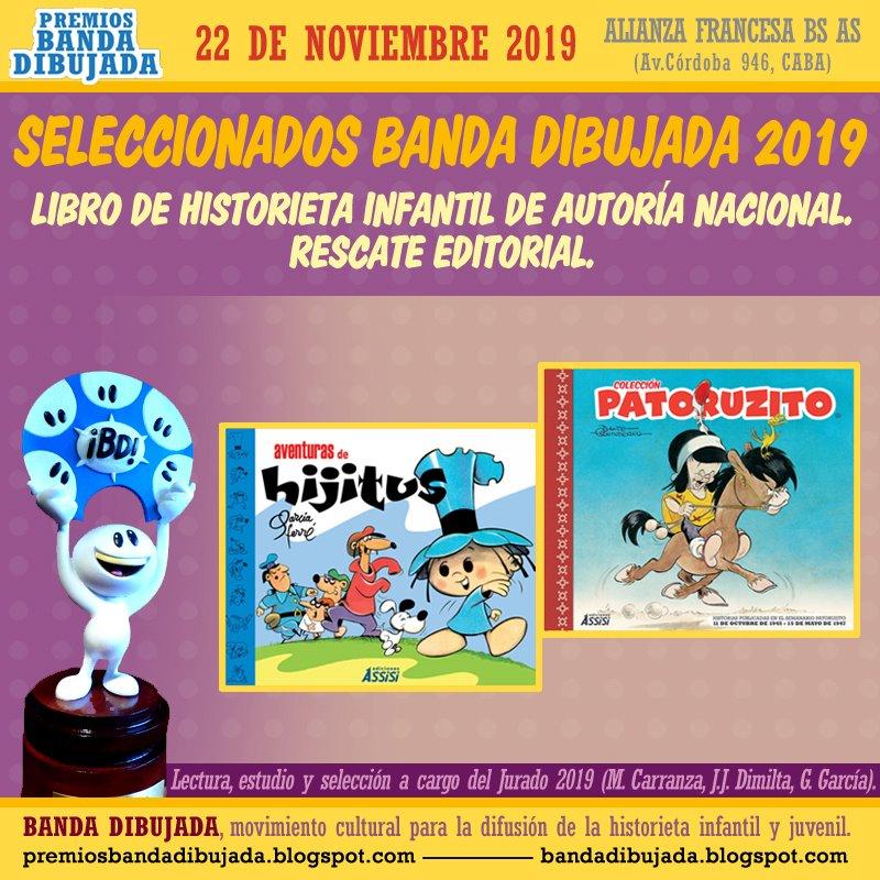 premios bd 2019 - rescate nacional infantil