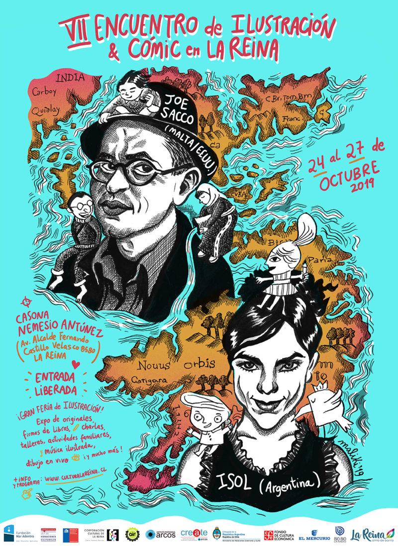 2019-10 VII Encuentro de Ilustración y Cómic La Reina