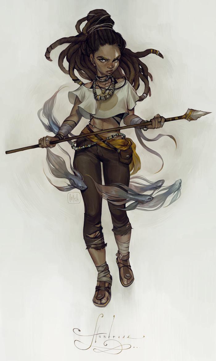 loish-huntress