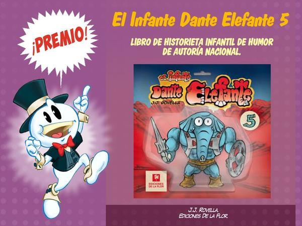 premios bd 2019 - dante elefante-gcomics