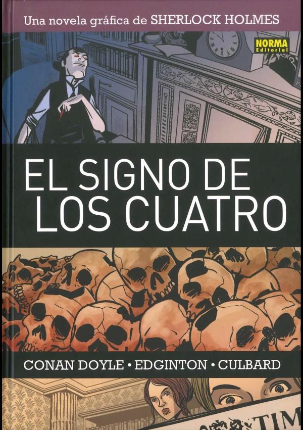sherlock-holmes-y-el-comic-el-signo-de-los-cuatro-novela-grafico