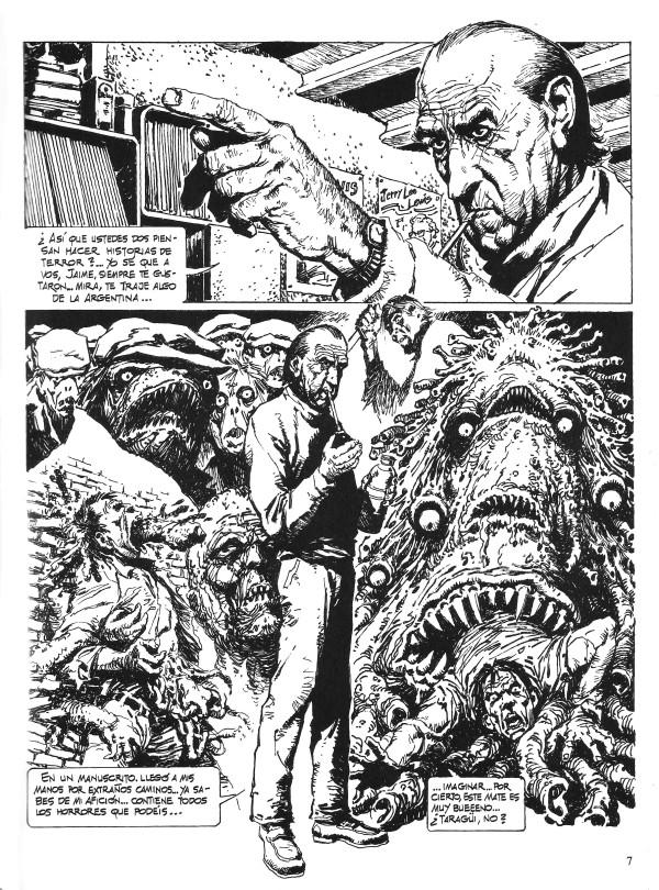 lovecraft-historieta-el-otro-necronomicon-antonio-segura-jaime-brocal-remohi-pagina-01