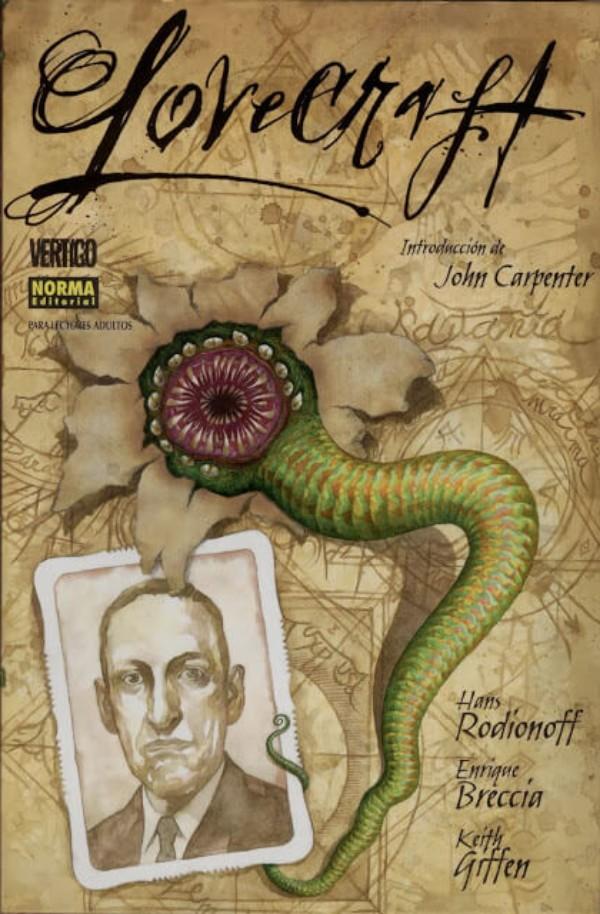lovecraft-historieta-lovecraft-una-biografia-hans-rodionoff-keith-giffen-enrique-breccia-norma