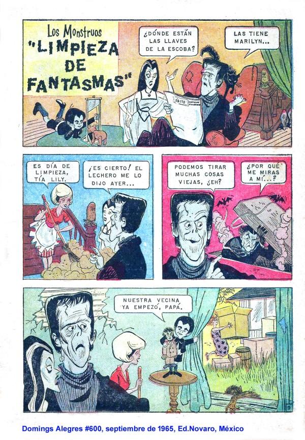 editorial-novaro-los-monstruos-domingos-alegres-600-1965-mexico